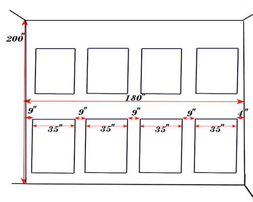 3. Please draw a simple sketch and make a note if there is any special dimension that we need to pay attention to